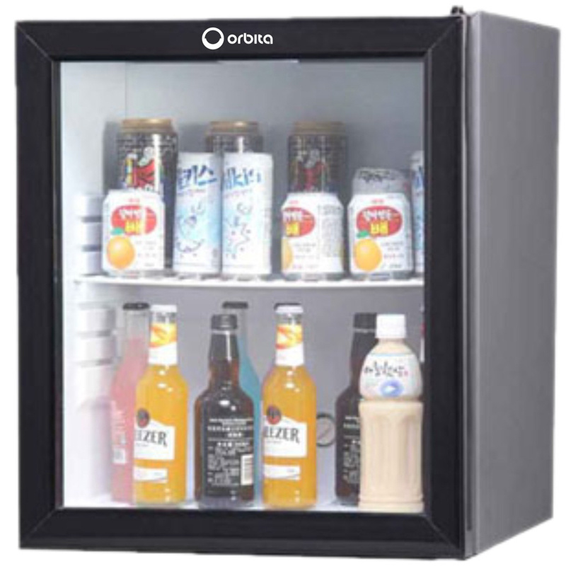 Orbita Wholesale Hotel Mini Glass Door Fridge