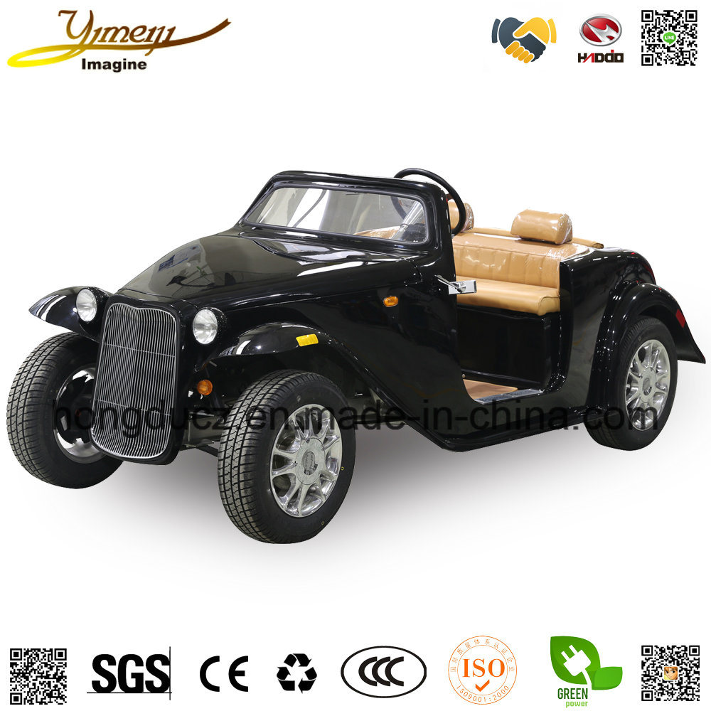 China Old Style 4 Seats for Jeep 4 Wheel Electric Vintage Car with ...