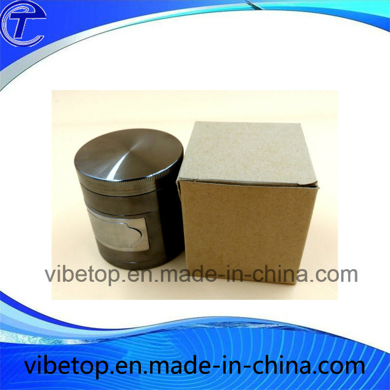 Hot Sale 4 Tier Aluminum/Zinc Alloy Box of Herb Grinder pictures & photos