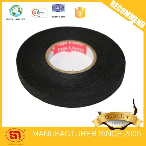 China Automotive Wire Harness Black Fleece Tape for Auto Usages 9mm*15m -  China Adhesive Tape, Fleece TapeWenzhou Lianyi Wire Harness Tape Co., Ltd.