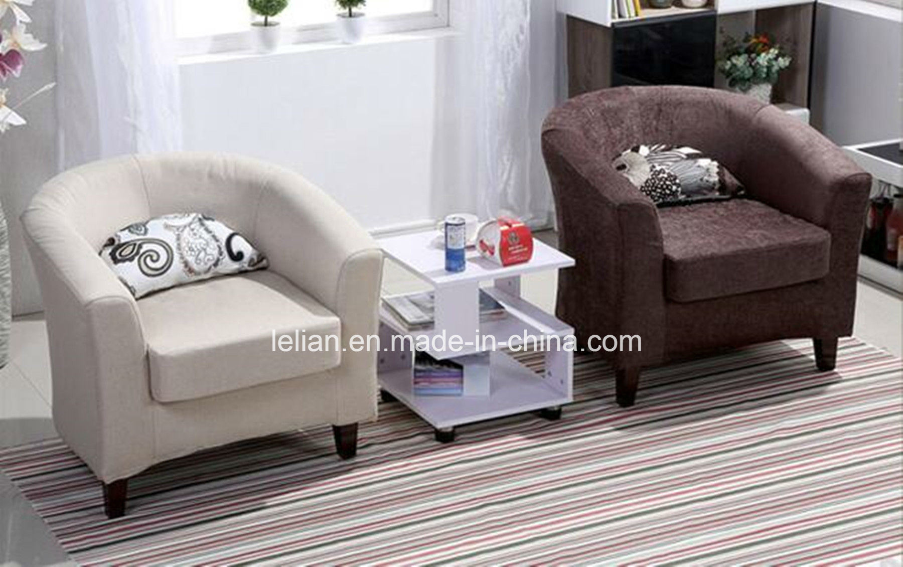 Leisure Bedroom Single Sitting Sofa Chair Comfortable Tub Ll Bc072