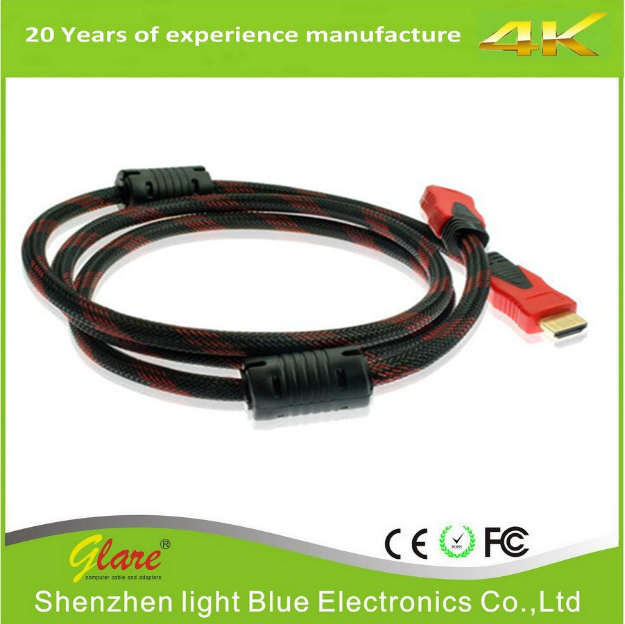 High Speed 1080P HDMI Cable with Ethernet pictures & photos