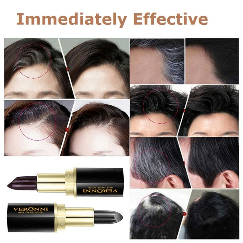 China VERONNI Portable Natural Black/Brown Hair Color Dye