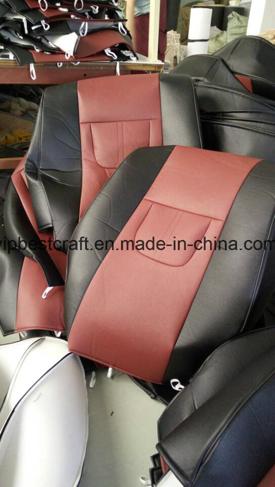 Superb PU Leather Cloth Material Dedicated Seat Cushion Original Fitting Car Cover Baby