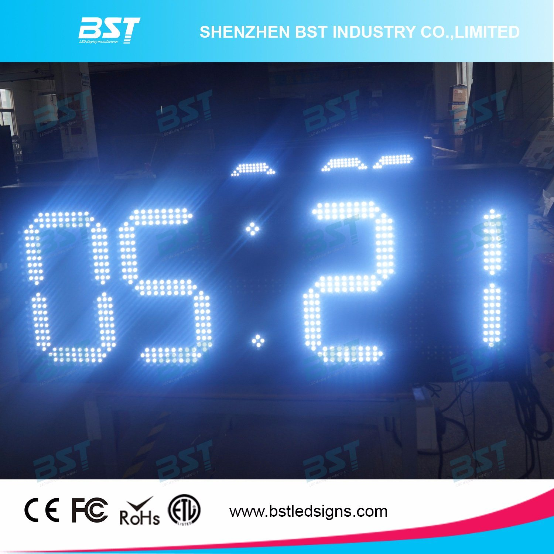 Digital Outdoor Clocks Large Outdoor Ideas