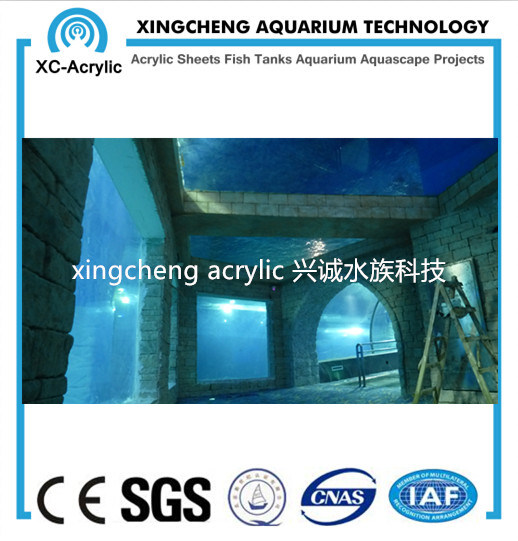 China Supplier Cast Clear Acrylic Sheets Used for Aquarium - China