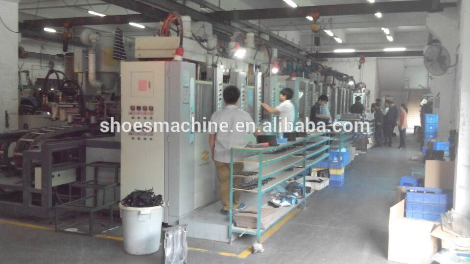 Vertical Type Tr PVC Sole Injection Moulding Machine