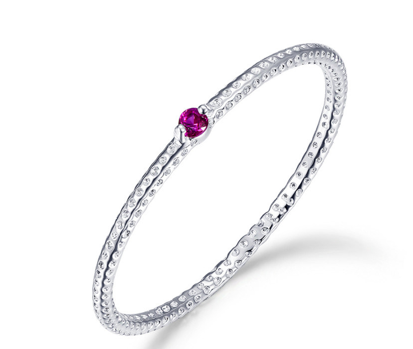 China Colorful Cz Setting Avaliable 925 Sterling Silver Ring