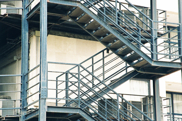 Great China Outdoor Galvanized/Painting Steel Stair   China Outdoor, Steel Stair