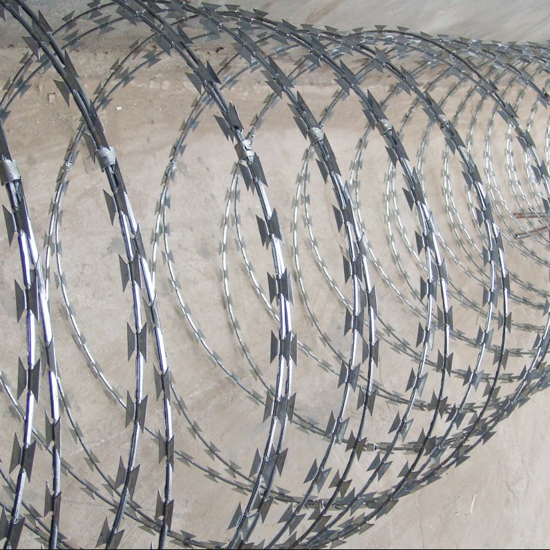 China Protection Concertina Razor Wire Fence (BTO-22) - China Razor ...