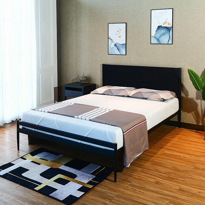 China Bed Frame Metal, Wood Metal Bedroom Furniture