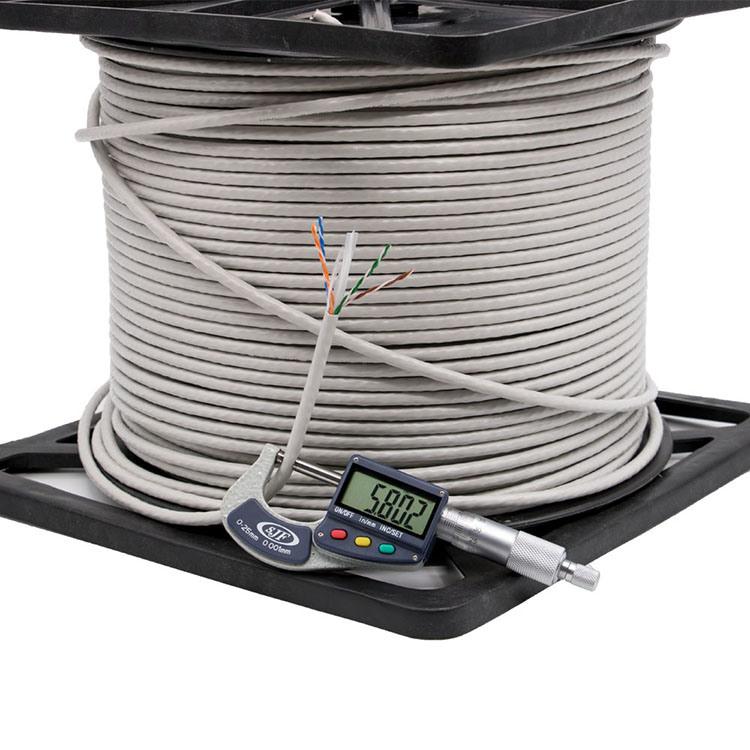 China UTP CAT6 Pass Fluke 23 American Wire Gauge Single Copper Fluke ...