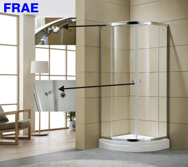 China 6mm Round Glass Shower Enclosure Bathroom Shower Room Corner ...