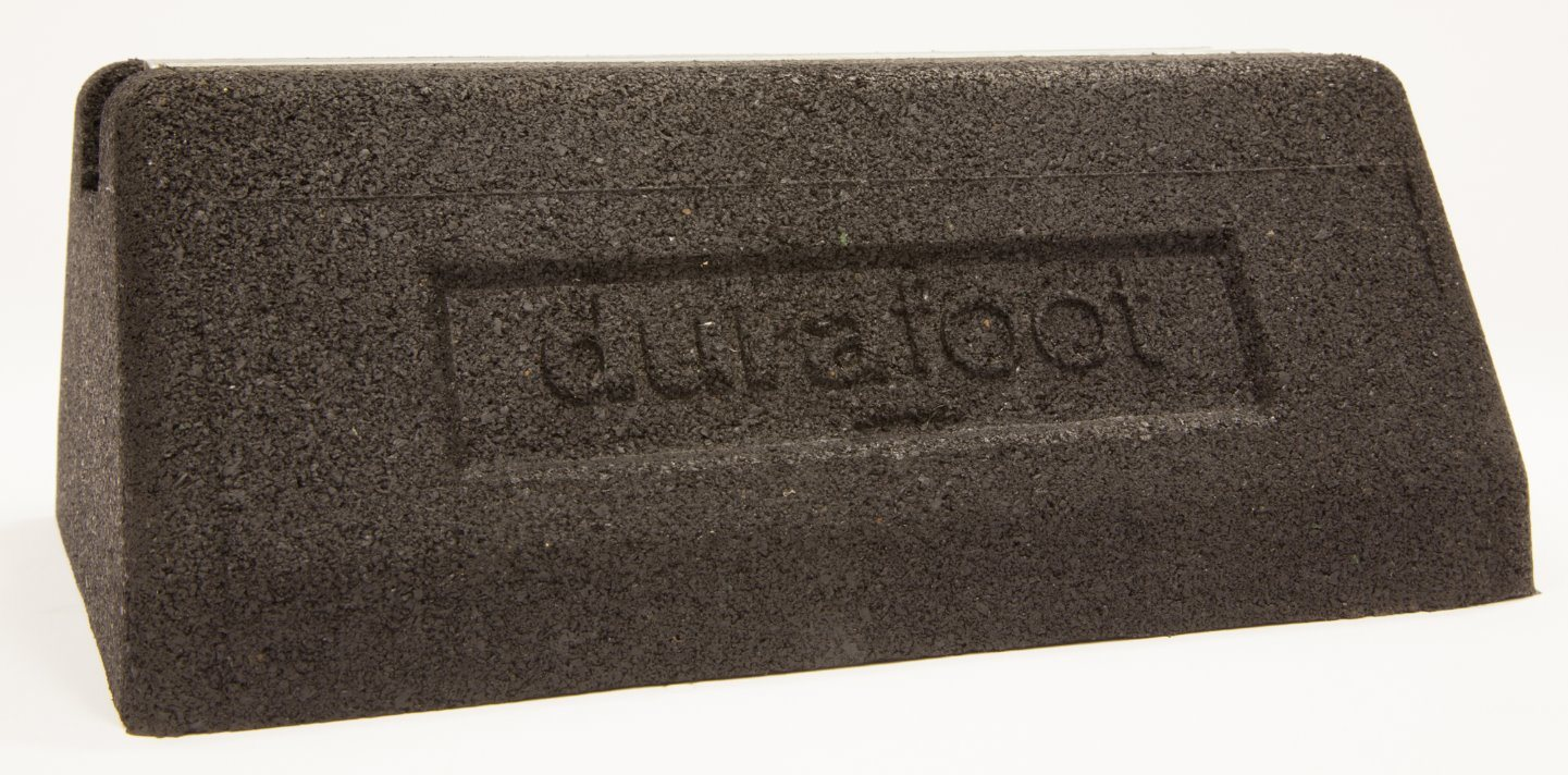 Durafoot Fx250 Rubber Support Foot Rooftop Block Base for Cable Tray, Busbar, Ducting & Pipework pictures & photos