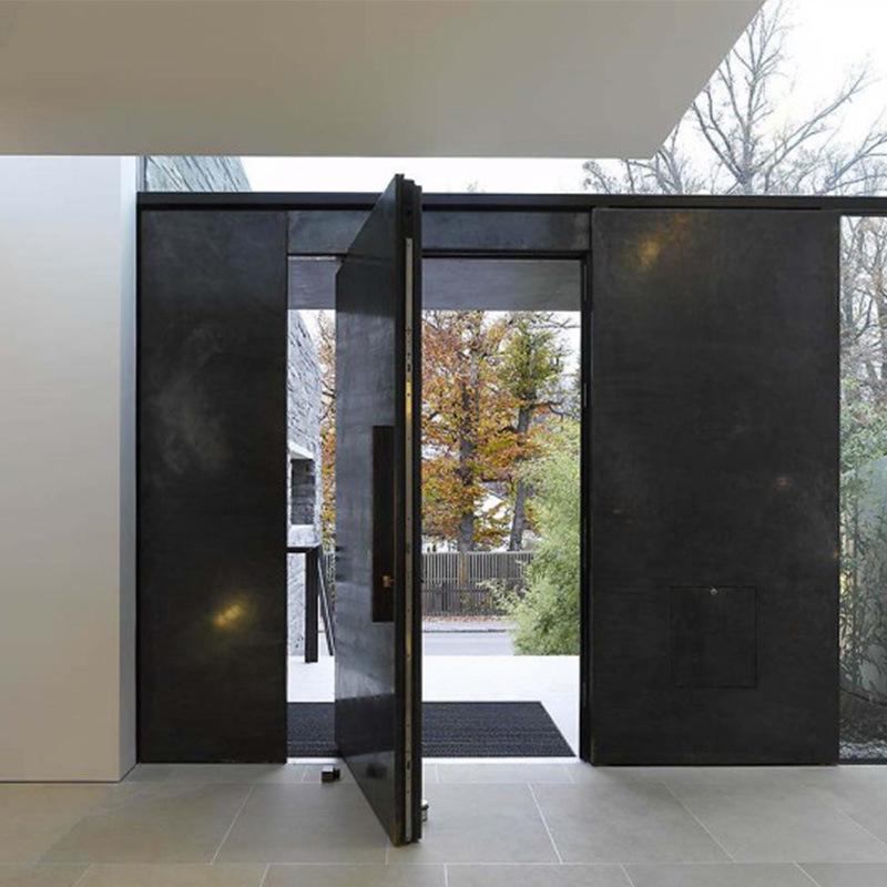Us Villa Main Entry Door Modern Design Pivot Wood Doors & China Us Villa Main Entry Door Modern Design Pivot Wood Doors Photos ...