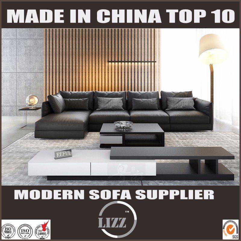 [Hot Item] Italian Modern Lving Room Furniture Designs Leather Sofa