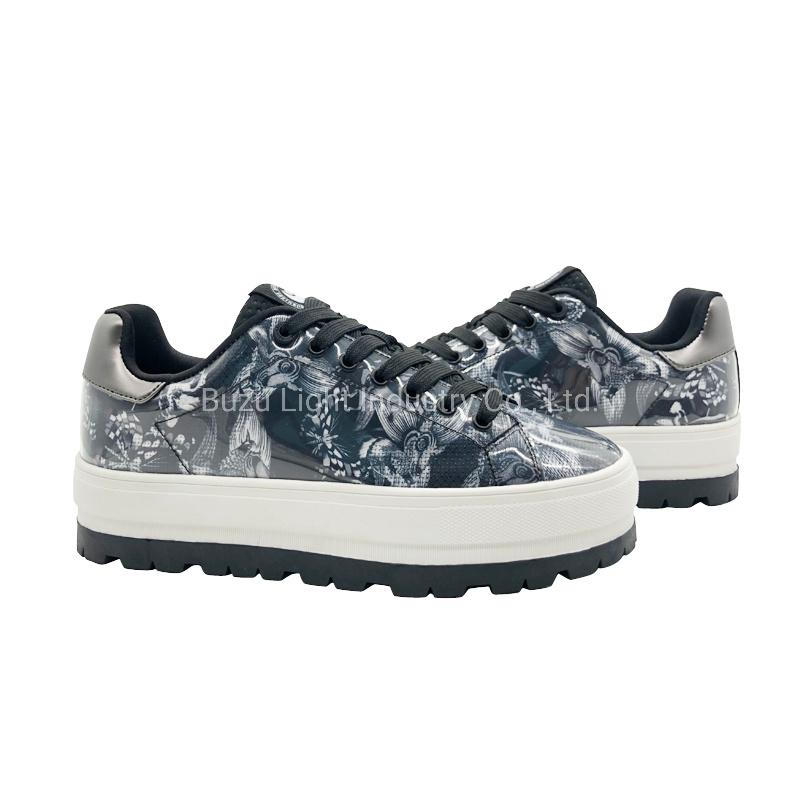 s Fashion Platform Shoes Lady Sneaker