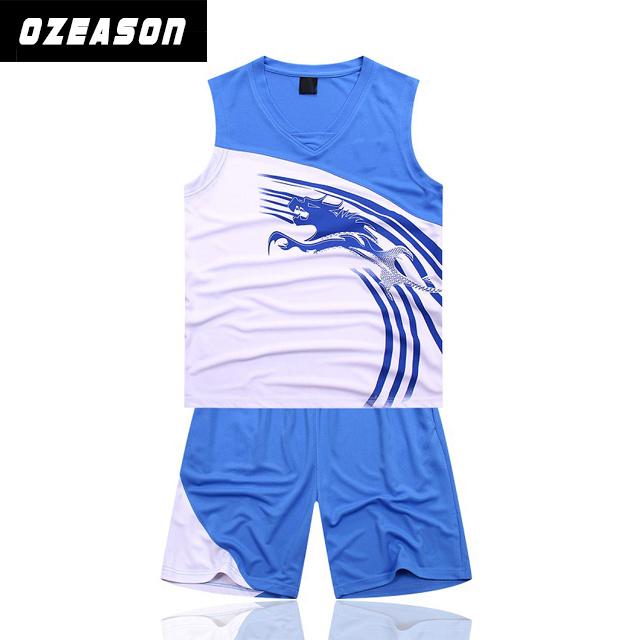 b5430e892b4 China Ozeason Full Dye Sublimation Sky Blue Eco-Friendly Basketball ...