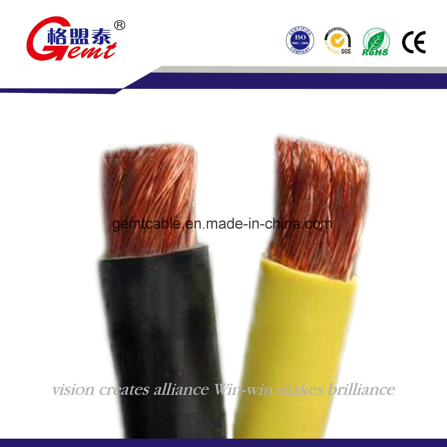 China 50mm Single Core Copper Welding Cable - China Welding Cable ...
