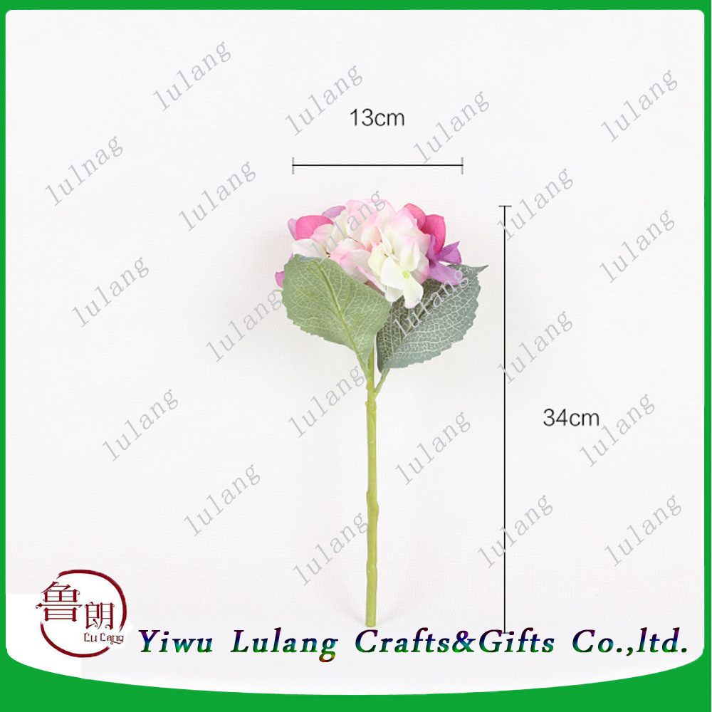 China Wholesale Large Head Silk Flower Hydrangea Cheap Artificial