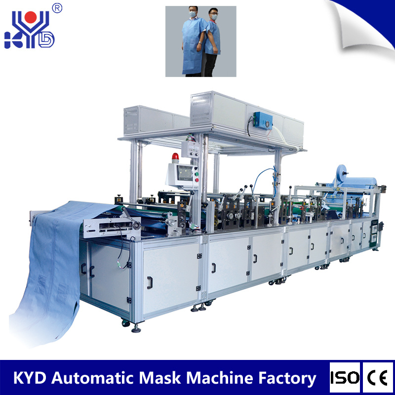 [Hot Item] Ultrasonic Non Woven Define PPE Paper Medical Gown Making Machine