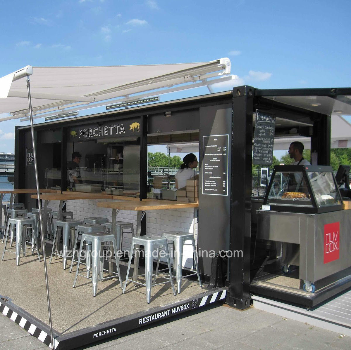 Bar Shipping Container Coffee