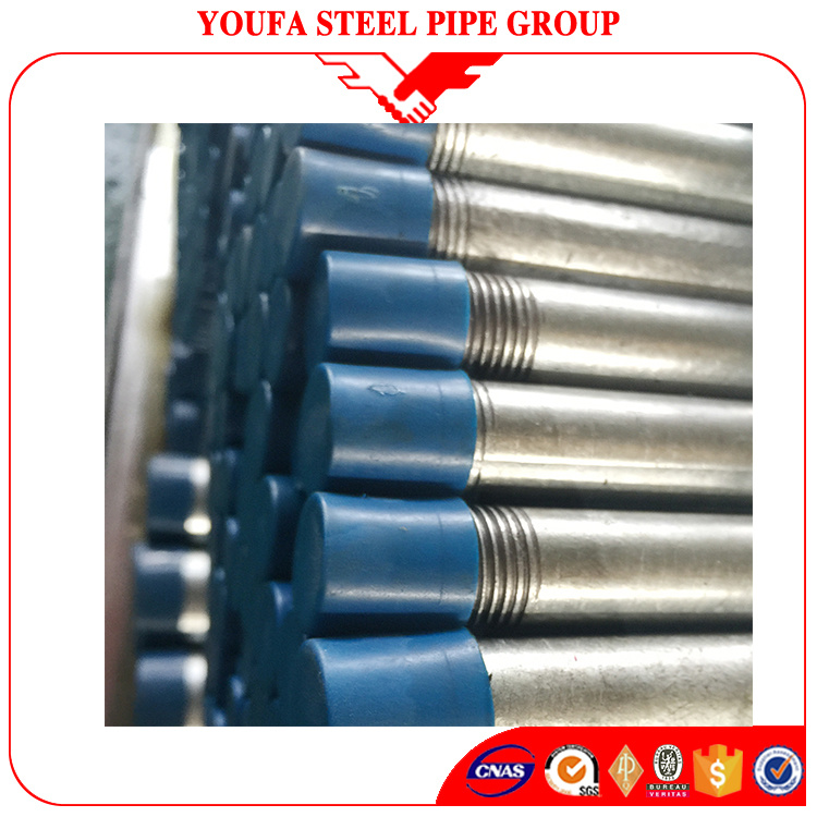 China Electrical Wire Conduit Threaded Ends Hot Dipped Galvanized ...