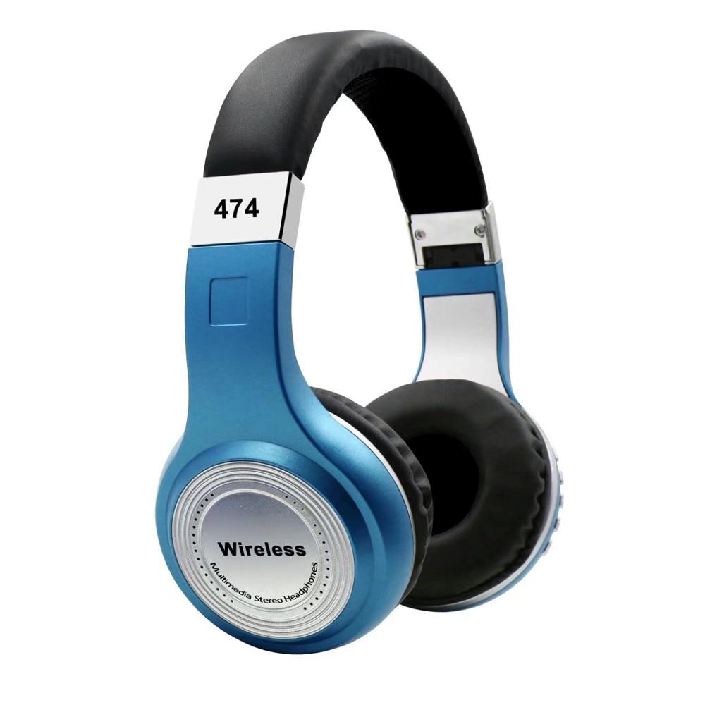 China Latest Studio Stereo Headband Sport Wireless Heavy Bass Stereo ...