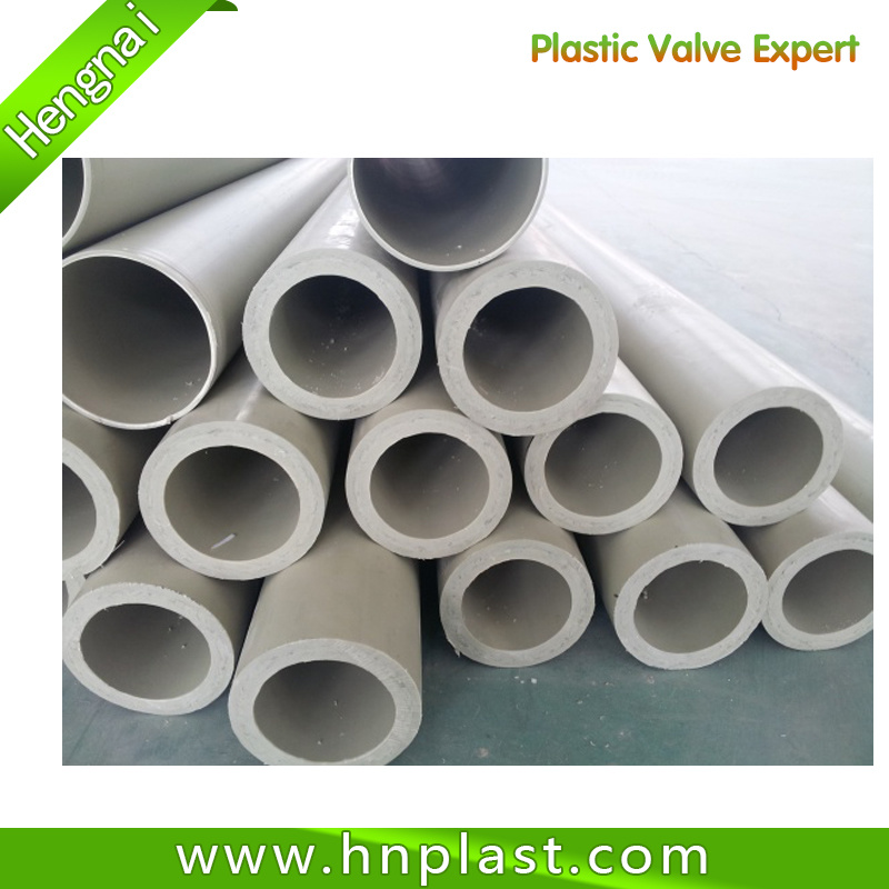 China Plastic PVDF Pipe and Pipe Fittings Photos & Pictures - Made