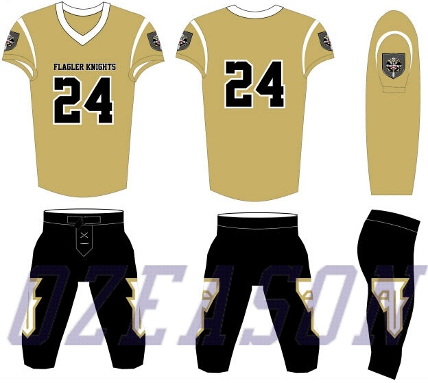 8398b928b Wholesale Custom Design Youth American Football Uniforms / Tiger Football  Jersey