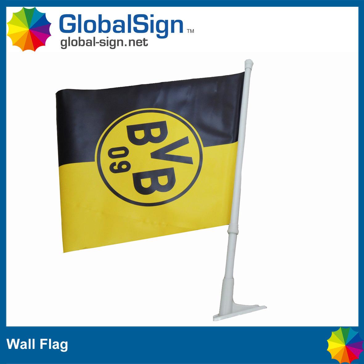 China Wall Mounted Flags, Decorative Wall Flag (GWF-A) - China ...