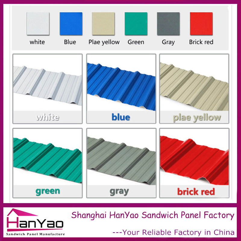 High Quality Color Steel Roof Tile for Building Material