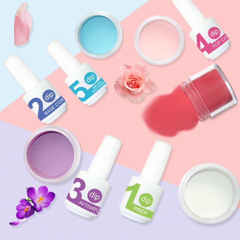 China 120 Color Nail Fashion Free Sample Acrylic Dipping Nail Powder ...