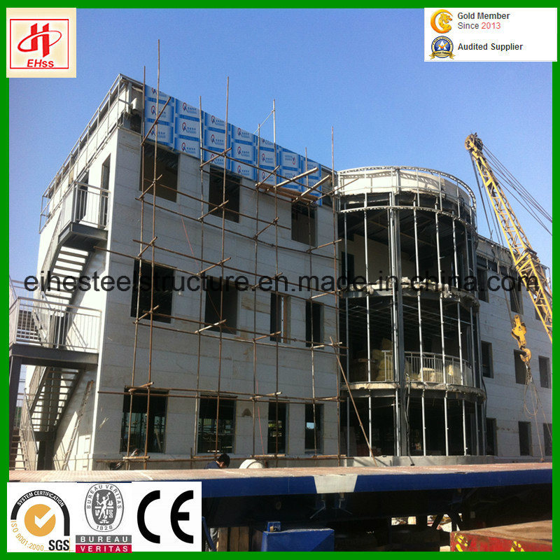 Pre-Fabricated Metal Steel Structure Prefabricated House pictures & photos