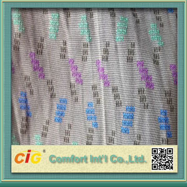 Knitting Jacquard Fabric with Polyester pictures & photos