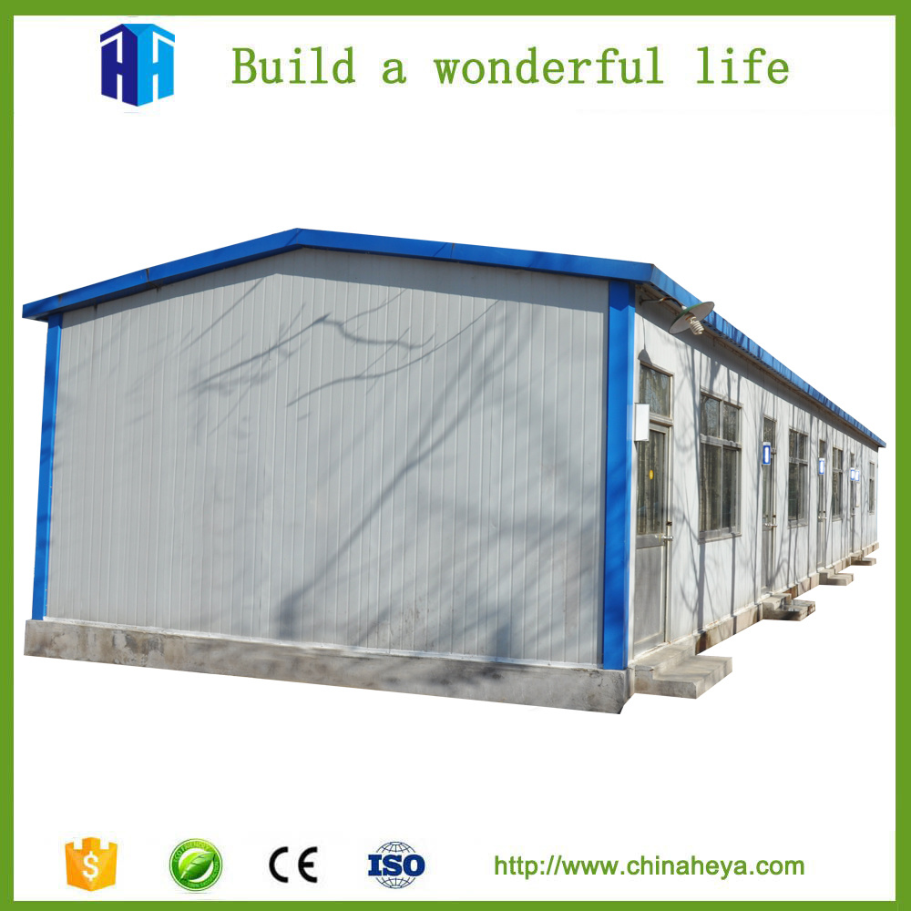 China Cheap Prefab Steel Frame House Construction Labor Camp Prices ...