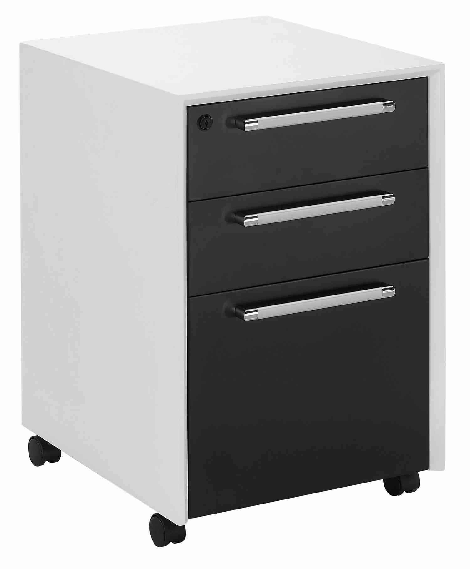 official photos 838a2 d33b8 [Hot Item] Mobile 3 Drawer Under Desk File Cabinet for Office