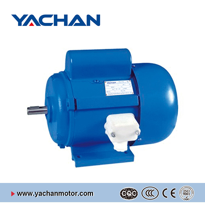 CE Approved Jy Series with Starting Capacitors Single Phase Electric Motor