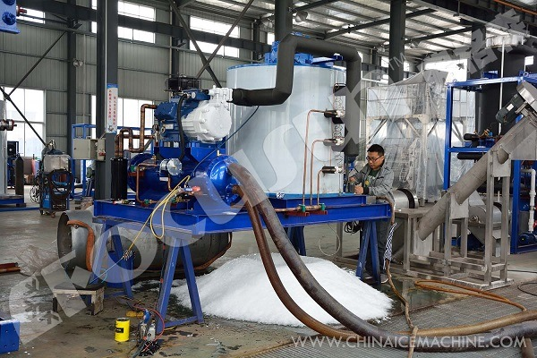 China Top1 Focusun Flake Ice Making Machine pictures & photos