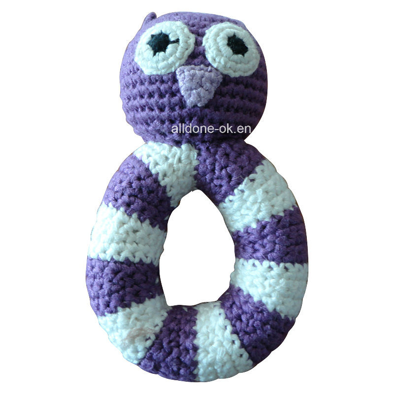 Hand Crochet Baby Plush & Stuffed Doll Toy Teething Toys pictures & photos