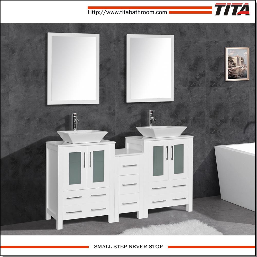 Pleasing Hot Item Double Sink Modern Bathroom Vanity T9161 Download Free Architecture Designs Xoliawazosbritishbridgeorg
