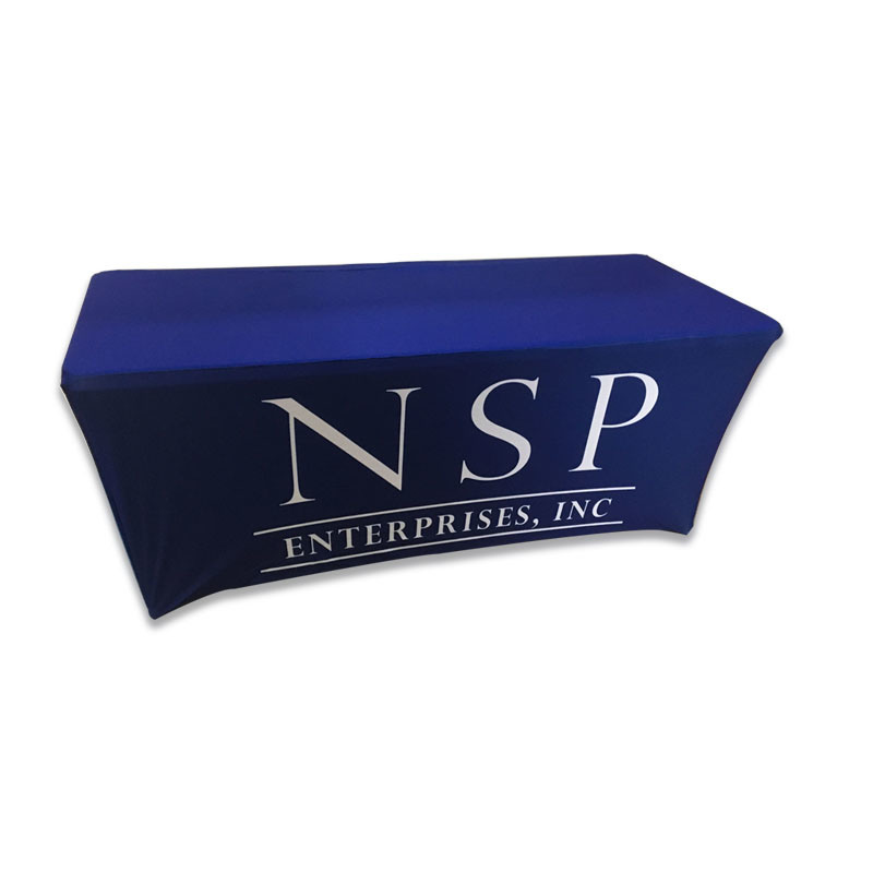 4ft 6ft 8ft Trade Show Table Cloth