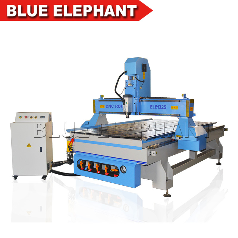 [Hot Item] 1325 China CNC Router 6kw Spindle, 3D CNC Wood Carving Machine  with 3 Axis Mach3 Controller