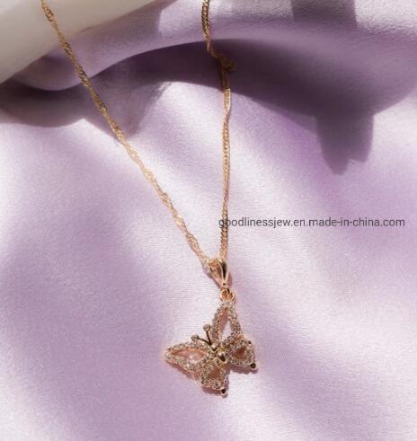 Butterfly Pendant 925 Sterling Silver Jewelry for Women