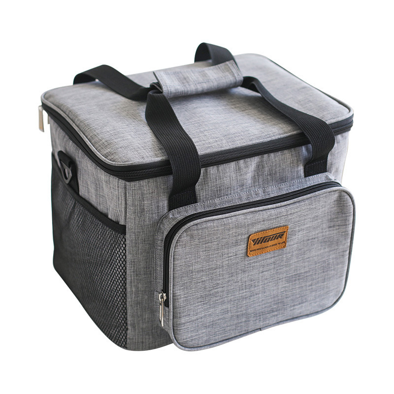 Portable Insulated Thermal Cooler Bag Picnic Lunch Box Bottle Storage Bag LC