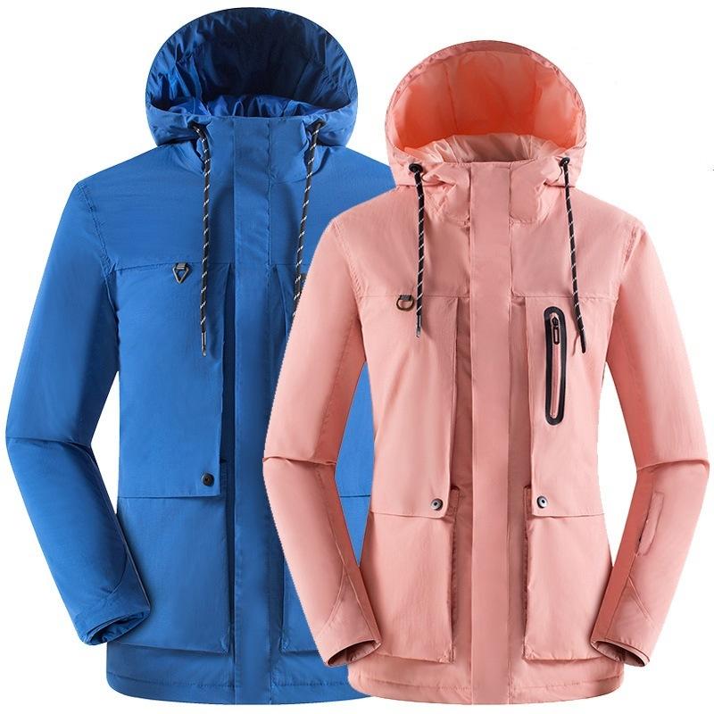 China High Quality Custom Logo Waterproof 3 In 1 Hiking Outdoor Trekking Jacket For Men China Trekking Jacket And Hiking Jacket Price