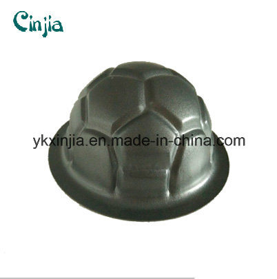 China Carbon Steel Non Stick Football Shaped Cake Pan China