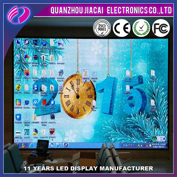 High Resolution P4 Full Color Indoor LED Display for Rental Cabinet