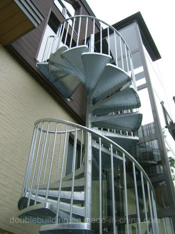 Exceptionnel Hot Dipping Galvanized Spiral Staircase Outside Stairs Design