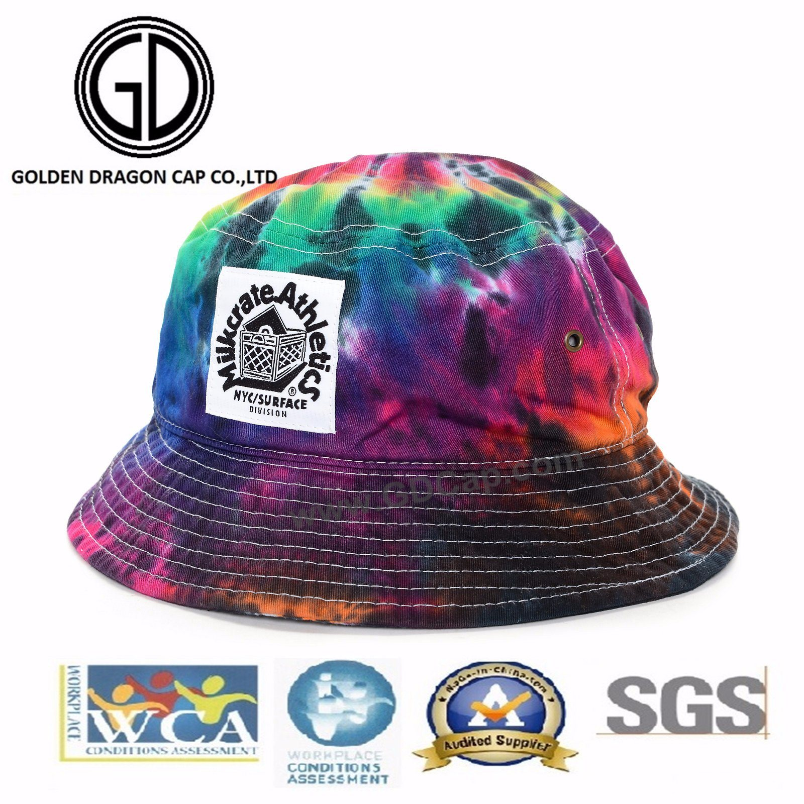3b500d27 China 2017 Hot Popular Fashion Design High Quality Tie-Dyed Sublimation  Printed Cap Bucket Hat - China Bucket Hat, Bucket Cap